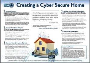 Creating a cyber secure home